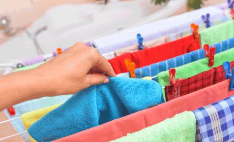 Trucos para tender la ropa dentro de casa