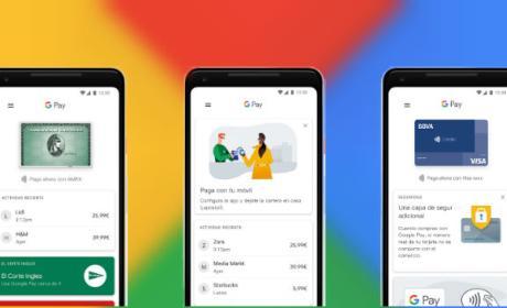Así es GPay, la nueva aplicación para pagos móviles de Android.