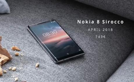 Nuevos móviles Nokia Android One presentados en el MWC 2018.