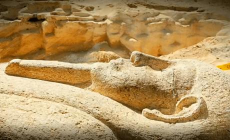 Descubierto un cementerio secreto en Egipto