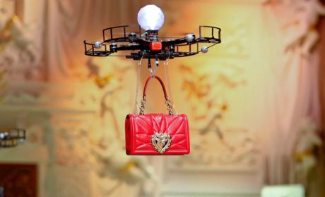 Drones desfile Dolce & Gabbana
