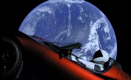 El Tesla Roadster de SpaceX podría contaminar Marte con bacterias de la Tierra