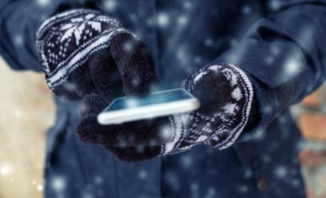 Hace mucho frío y mi móvil no funciona: qué hacer.