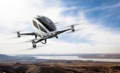 Porsche y su idea de crear drones para llevar pasajeros