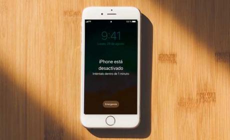 iphone bloqueado