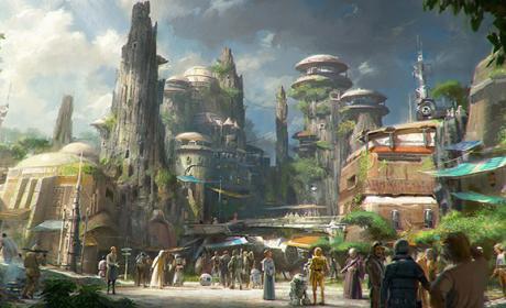 El parque de atracciones de Star Wars, en vídeo