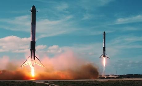 Este es el corto cinematográfico del Falcon Heavy, al estilo Westworld