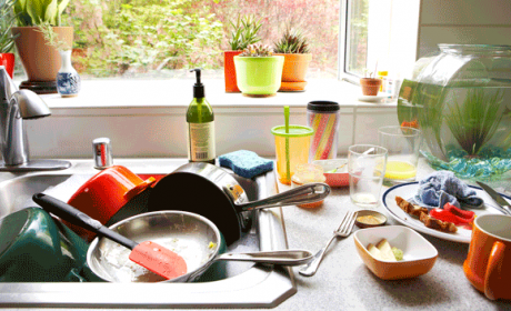 Estos son los lugares más sucios de la cocina