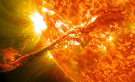 Tormenta solar del 15 de marzo.