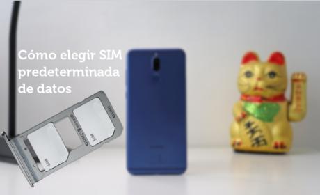 Huawei Mate 10 Lite -  Sim de datos predeterminada