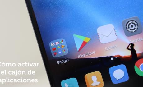 Huawei Mate 10 Lite- cajón de aplicaciones