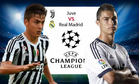 Enlaces para ver gratis el Juventus vs Real Madrid de Champions.