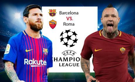 Enlaces para ver el Barsa Roma de Champions.