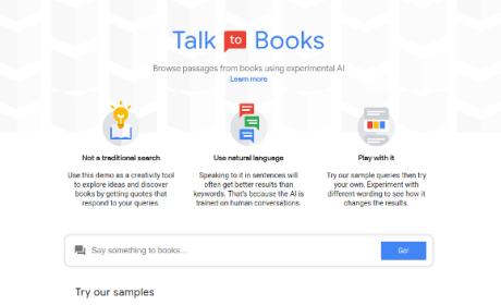 Buscador de libros de Google.