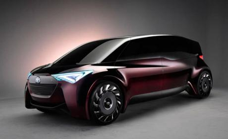 toyota coche eléctrico ruedas sin aire