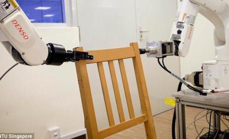 Robot Ikea para montar sillas en poco tiempo