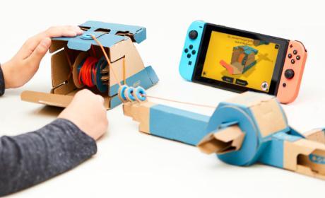 Nintendo Labo para Switch: descarga gratis los PDF de sus accesorios de cartón.