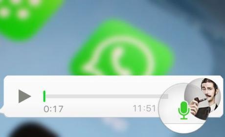 nota voz whatsapp