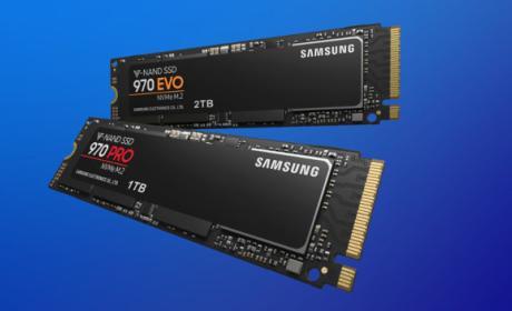 Características técnicas de los SSD Samsung 970 EVO y 970 Pro.