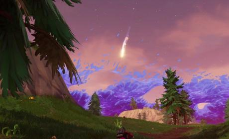 Los meteoritos caen en Fortnite: su significado aún se desconoce.