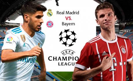 Cómo ver online el Madrid vs Bayern de Champions League.