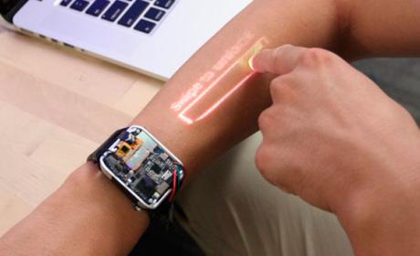 reloj inteligente proyector