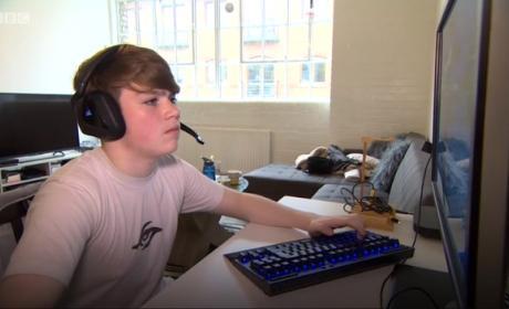 Kyle Jackson, 13 años, el jugador profesional más joven de Fortnite