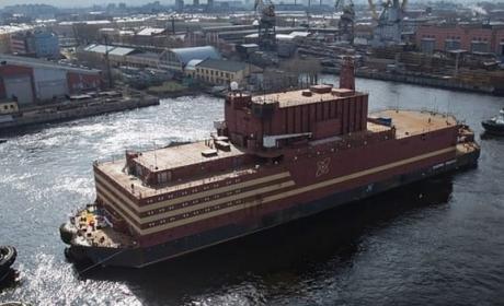 Esta es la primera central nuclear flotante del mundo