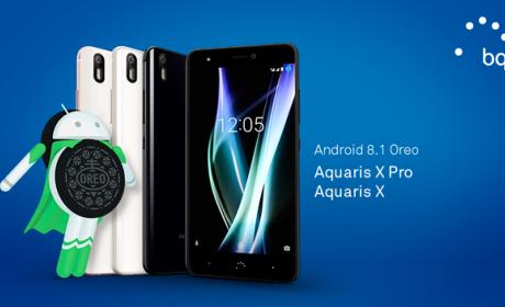 Los BQ Aquaris X y Aquaris X Pro reciben Android 8.1 Oreo