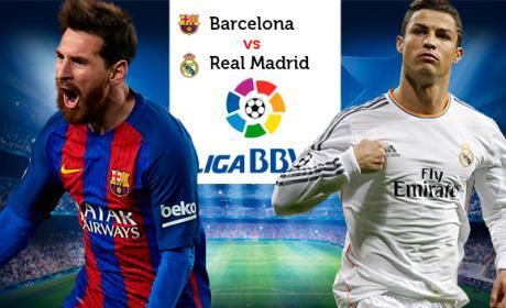 Web para ver el clásico Barça Madrid de Liga.