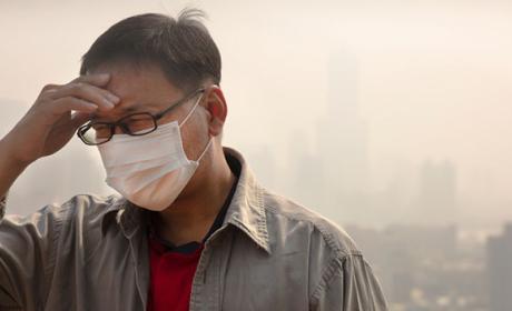 mascarilla contaminación