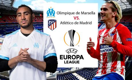Final de la Europa League: Marsella vs Atlético de Madrid