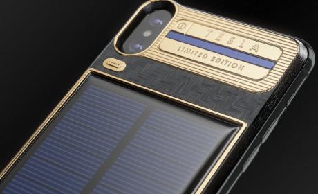 iPhone X Tesla Edition de Caviar