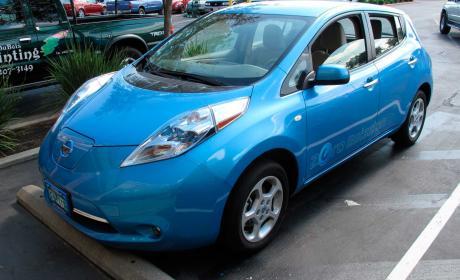Partidos políticos coche eléctrico