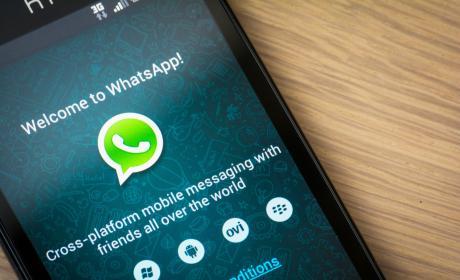 WhatsApp en un móvil Android