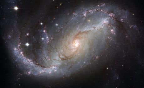 galaxia, espacio