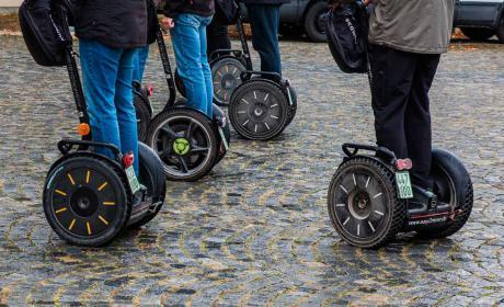 Movilidad electrica en la ciudad, segways