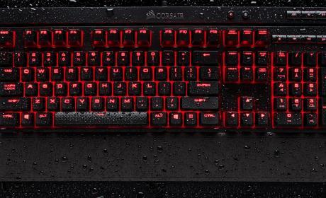 Corsair K68 Red