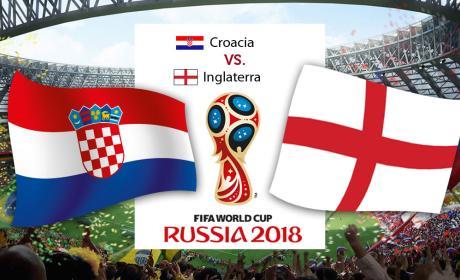Croacia vs Inglaterra