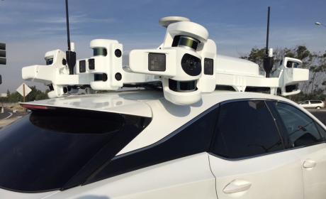 Vehículo autónomo de Apple