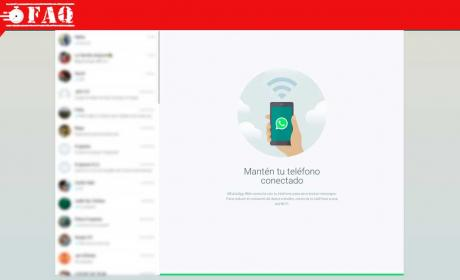WhatsApp Web: desactivar notificaciones emergentes
