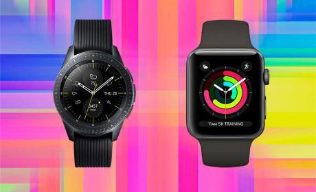 Apple Watch 3 vs Galaxy Watch