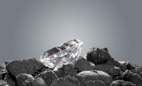 Material casi tan duro como el diamante