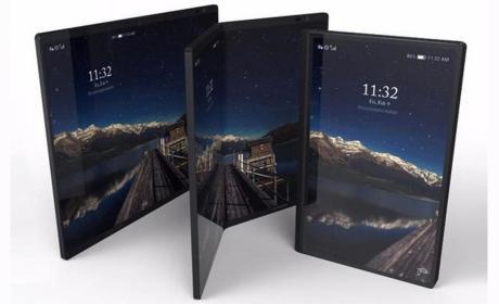 Móvil plegable de Huawei