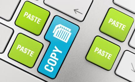 El origen del copiar y pegar