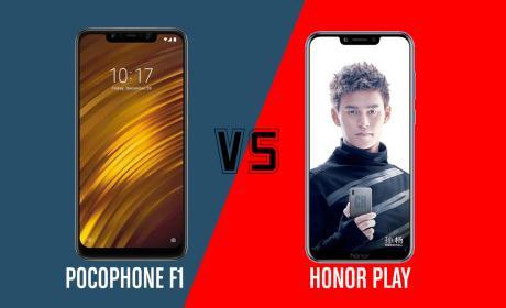 Pocophone vs Honor Play