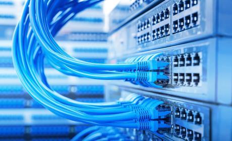 Cable ethernet en un servidor