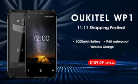 Oukitel WP1 en AliExpress