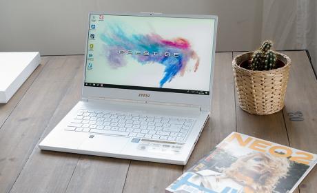 Así es el portátil de MSI Prestige P65 para creadores gráficos: estas son nuestras primeras impresiones