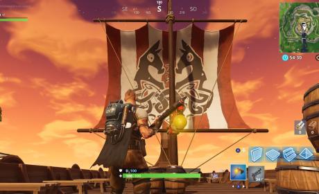 visita barco vikingo fortnite
